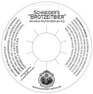 Schneider's Brotzeit Bier