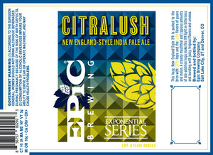 Epic Brewing Company Citralush