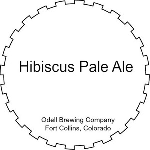 Odell Brewing Company Hibiscus Pale Ale