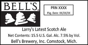 Bell's Larry's Latest Scotch Ale