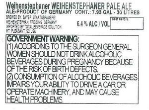 Weihenstephan Pale Ale