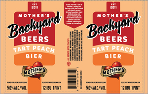Mother's Brewing Company Tart Peach