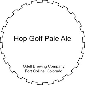 Odell Brewing Company Hop Golf Pale Ale