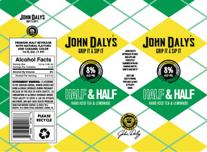John Daly's Half & Half