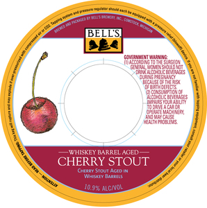 Bell's Whiskey Barrel Aged Cherry Stout