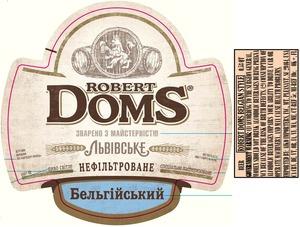 Robert Doms Belgian Style