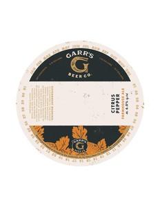 Garr's Beer Co Citrus Pepper - Farmhouse Ale