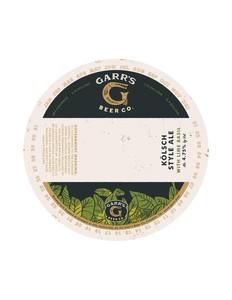 Garr¿s Beer Co. KÖlsch Style Ale - With Lime Basil