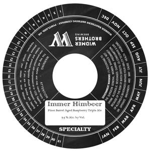 Widmer Brothers Brewing Co. Immer Himbeer May 2017