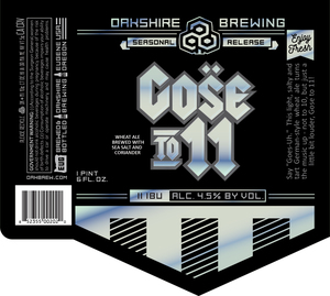 Gose To11 *see Notes