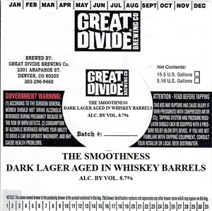 Great Divide Brewing Co. The Smoothness