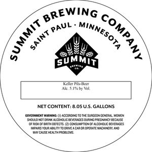 Summit Brewing Company Keller Pils
