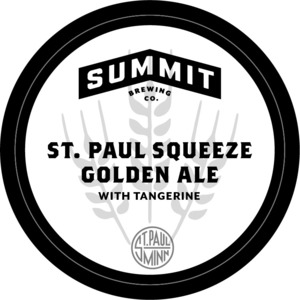 Summit Brewing Company St. Paul Squeeze