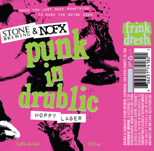 Stone Brewing & Nofx Punk In Drublic