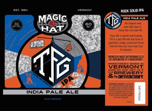 Magic Hat Tfg India Pale Ale May 2017