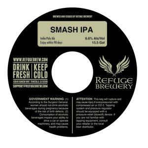 Refuge Brewery Smash IPA