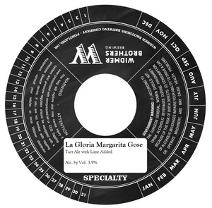 Widmer Brothers Brewing Company La Gloria Margarita Gose