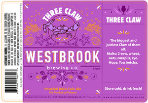 Westbrook Brewing Company Three Claw