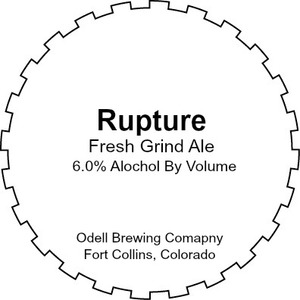 Odell Brewing Company Rupture