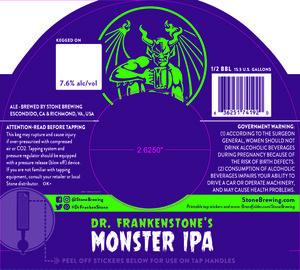 Dr. Frankenstone's Monster Ipa
