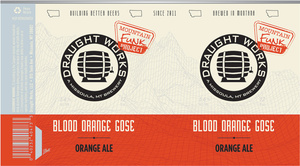 Draught Works Mountain Funk Project Blood Orange Gose