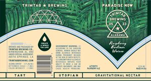 Trimtab Brewing Co. Paradise Now