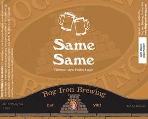 Bog Iron Brewing Same Same