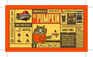 Mother's Brewing Company Mr. Pumpkin