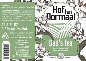 Hof Ten Dormaal Dad's Tea