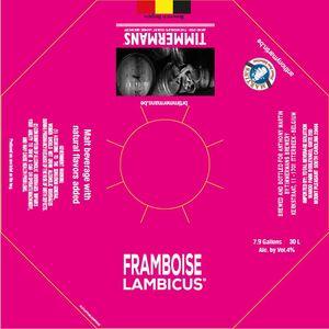 Timmermans Framboise Lambicus