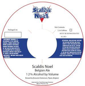 Dubuisson Scaldis Noel