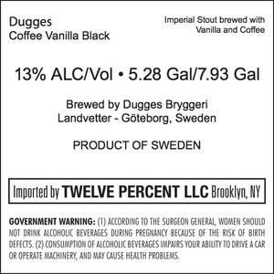 Dugges Coffee Vanilla Black