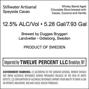 Stillwater Artisanal Speyside Cacao