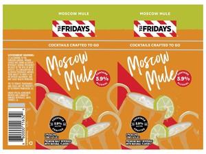 Tgi Fridays Moscow Mule