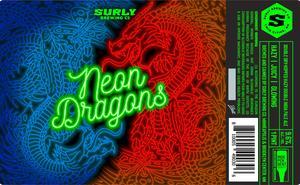 Neon Dragons Hazy Double Ipa