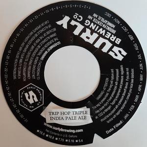 Trip Hop Triple India Pale Ale