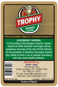 Trophy Premium Lager