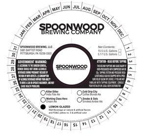 Spoonwood Brewing LLC Lemon Glazed