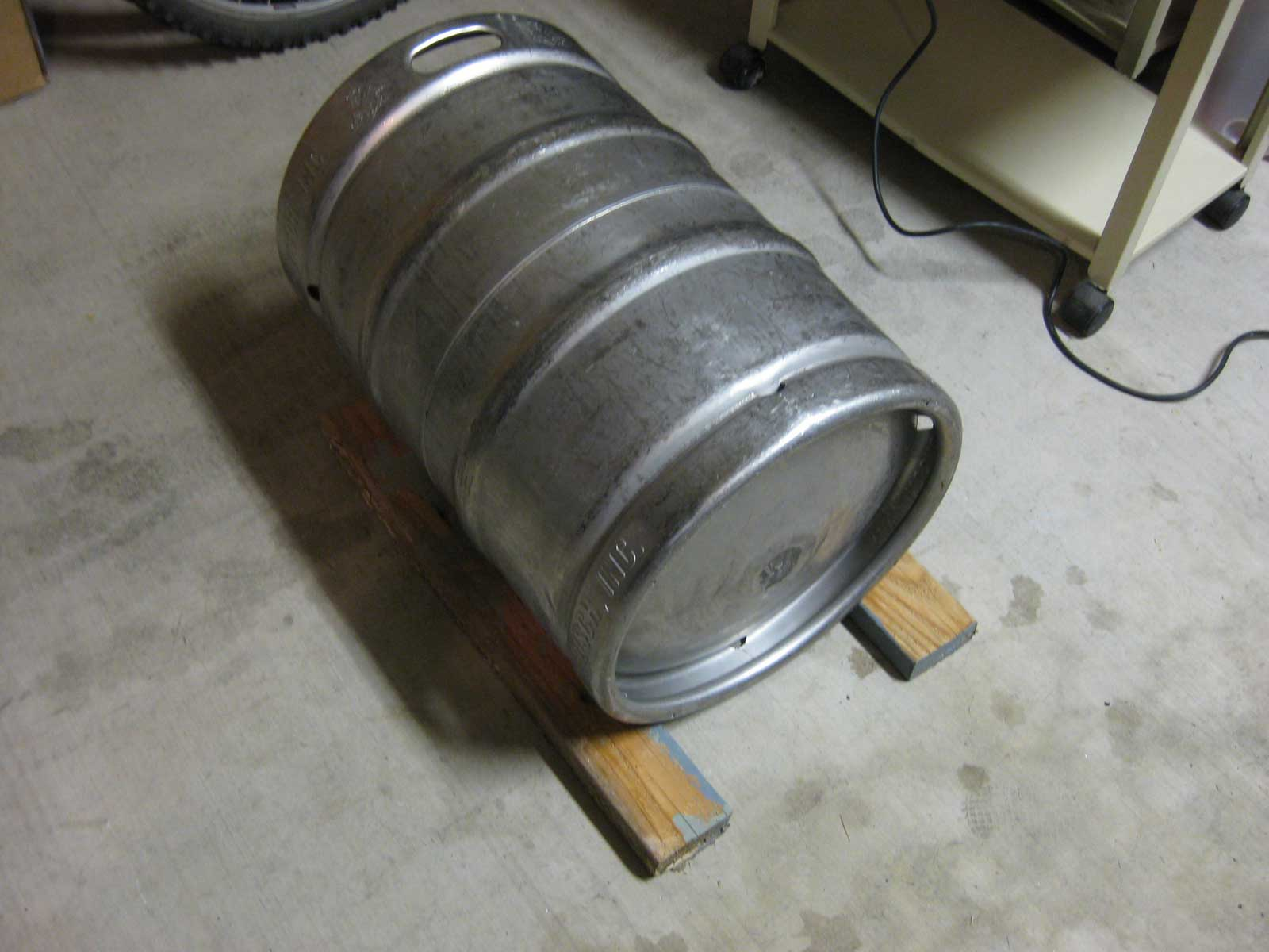 Prevent Keg From Rolling